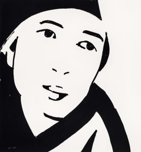 Alex Katz - Beauty 4 - 2019
