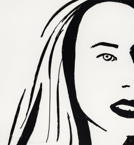 Alex Katz - Beauty 6 - 2019