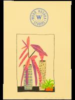 Jonas Wood -Notepad Doodle 3 (State II) -2018