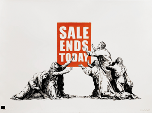 Banksy - Sale Ends Today - 2017
