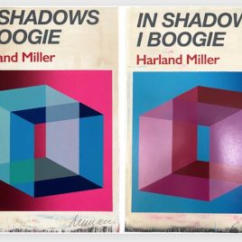 Private Sales - Harland Miller - In Shadows I Boogie (Pink & Blue)