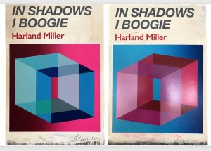 Harland Miller - In Shadows I Boogie (Pink & Blue) - 2019