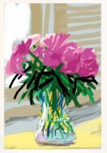 David Hockney - iPhone drawing 'No. 535', 28th June 2009 - 2019