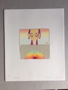 Yoshitomo Nara & Hiroshi Sugito - Over the Rainbow (original) - 2004