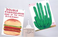 New David Shrigley editions - April 1st