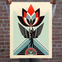 Shepard Fairey - Lotus Angel - 2020