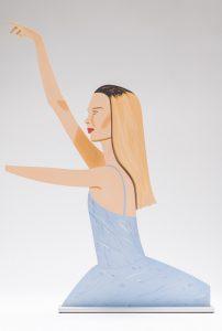 Alex Katz - Dancer 2 (Cutout) -2020