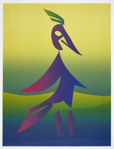 Carlos Amorales - Woodpecker (green) - 2020