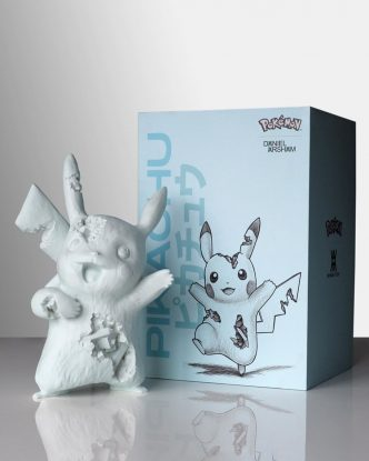 Daniel Arsham - Blue Crystalized Pikachu - 2020