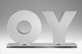 Deborah Kass - OY / YO (polished) - 2020