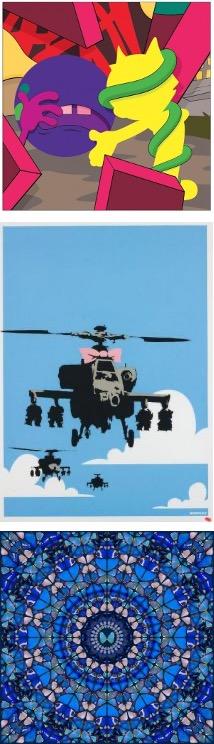 WANTED - Banksy / Hirst / Kaws