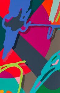 KAWS - Tension 4 (print portfolio) - 2019