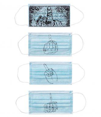 Ai Weiwei - Mask -Finger Series