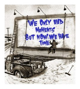 Mr Brainwash - Now is the Time (blue) - 2020