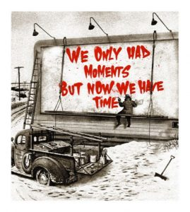 Mr Brainwash - Now is the Time (red) - 2020