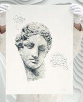 Daniel Arsham -Eroded Classical Prints - Venus of Arles