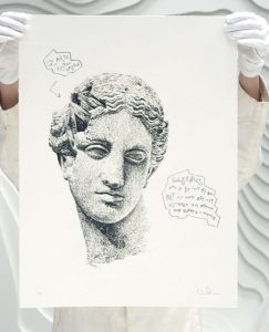 Daniel Arsham - Eroded Classical Prints - Venus of Arles