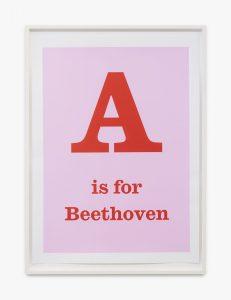 Jeremy Deller - A is for Beethoven - 2020