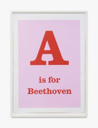 Jeremy Deller - A is for Beethoven - 2020