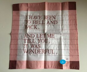 Louise Bourgeois - I Have Been To Hell And Back (Pink) - 2007