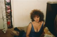 Nan Goldin - self portrait in blue dress NYC 1985 - 2020