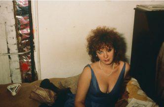 Nan Goldin - self portrait in blue dress NYC 1985 - 2020