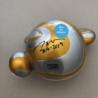 Takashi Murakami - Mr Dob Gold hand signed