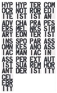 Christopher Wool - Black Book 1989
