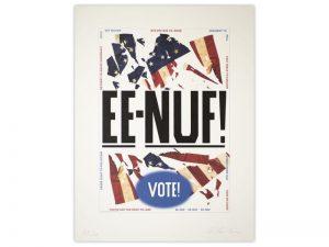 Ed Ruscha - EE-NUF! - 2020