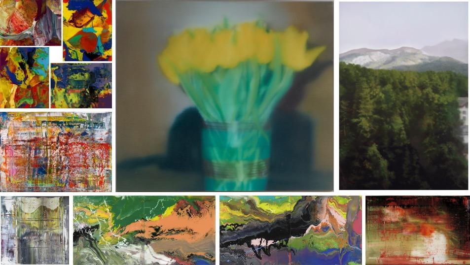 Gerhard Richter - P-series