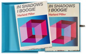 Harland Miller - In Shadows I Boogie (Blue) - 2019