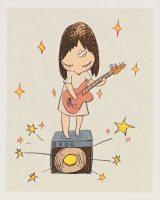 Yoshitomo Nara - Guitar Girl