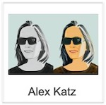 Alex Katz: prints and sculptures !