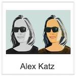 Alex Katz: prints and sculptures !