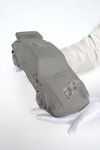 Daniel Arsham - ERODED 911 TURBO_