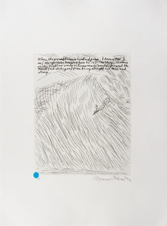 Raymond Pettibon - Untitled (When the Ground Becomes Hard and Firm)
