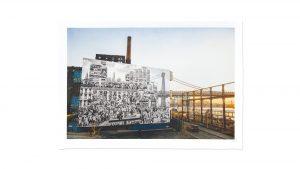 JR - The Chronicles of New York City, Domino Park, USA - 2020