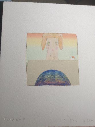 Yoshitomo Nara & Hiroshi Sugito - Over the Rainbow (Girl) - 2004