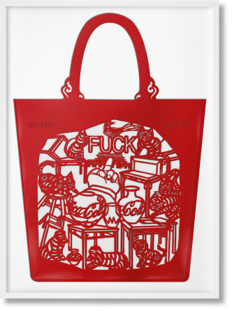 Ai Weiwei - The Bag 'Cats and Dogs'