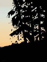 Alex Katz - Sunset 1 - 2020
