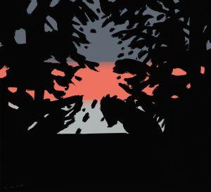Alex Katz - Sunset 2 - 2020
