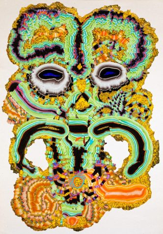 KerstinBrätsch -Fossil Psychic for Christa (Camden Art Centre Version) - 2020