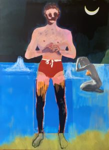 Peter Doig - Bather for Secession - 2020