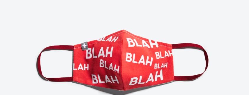 Mel Bochner - Mask (Blah, blah, blah ... )