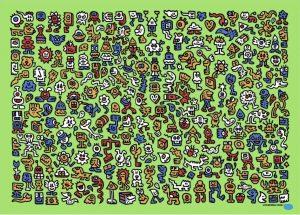 Mr Doodle - Alien Town - 2020