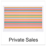 Check out our Private Sales (Image: Bridget Riley - Rose Horizontal)
