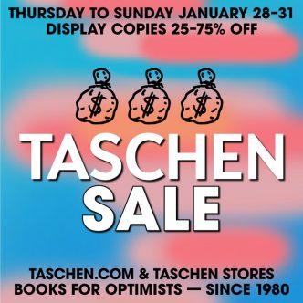 Taschen - Display Copies 25-75% Off