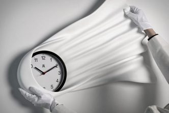 Daniel Arsham - Falling Clock - 2021