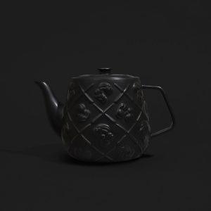 KAWS - Teapot (Black) - 2021