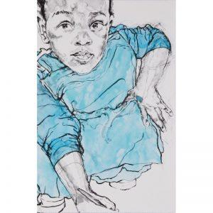 Claudette Johnson - Child Painting - 2020